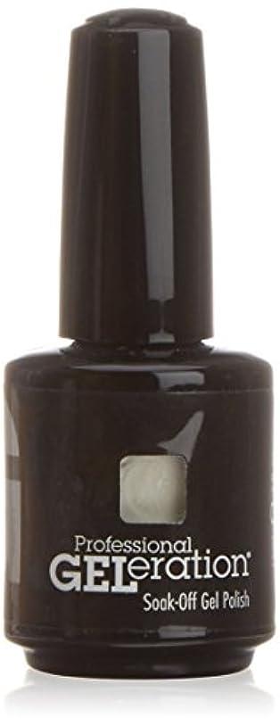 増幅レスリング混合したジェレレーションカラー GELERATION COLOURS 557 C ウェディングガウン 15ml UV/LED対応 ソークオフジェル