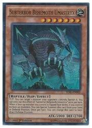 遊英語 茶 Subterror Behemoth Umastryx(U)(1st)