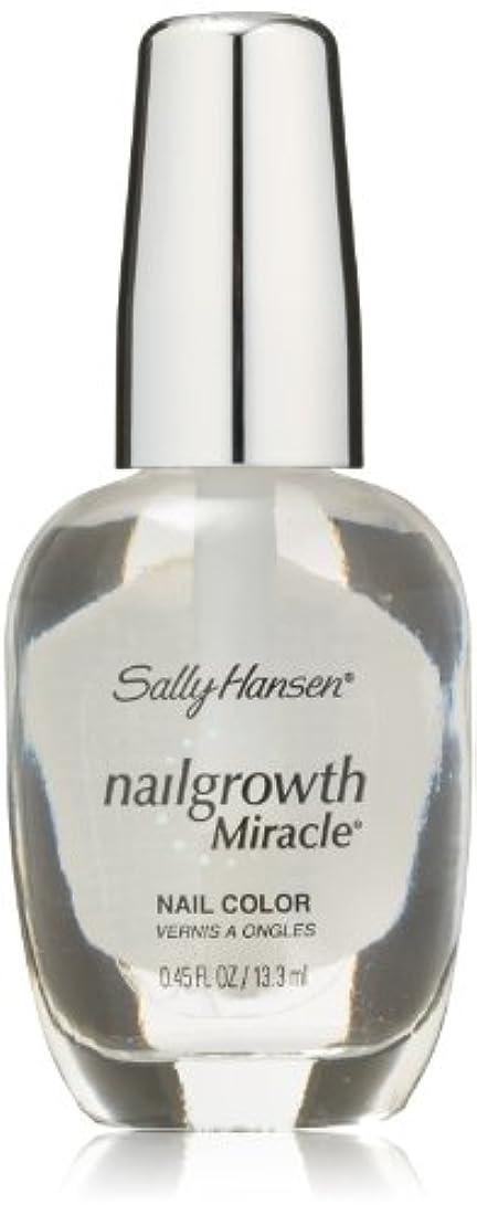 北方記憶悪性のSALLY HANSEN NAIL GROWTH MIRACLE NAIL COLOR #110 CLEAR