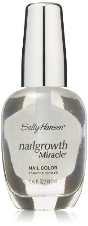 センチメンタル集計戦うSALLY HANSEN NAIL GROWTH MIRACLE NAIL COLOR #110 CLEAR