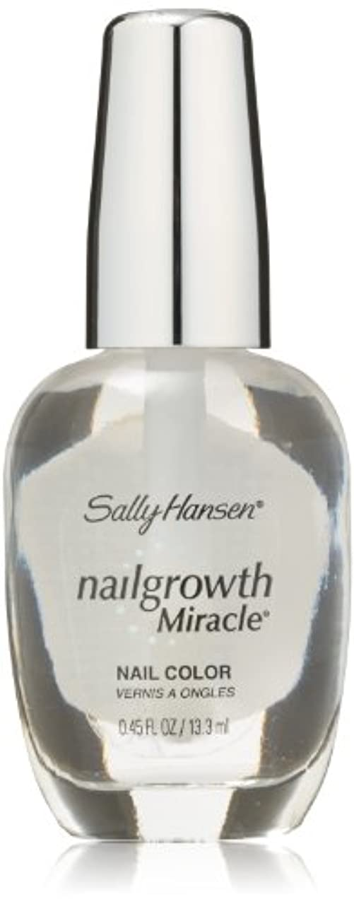 印刷する転用賞賛するSALLY HANSEN NAIL GROWTH MIRACLE NAIL COLOR #110 CLEAR