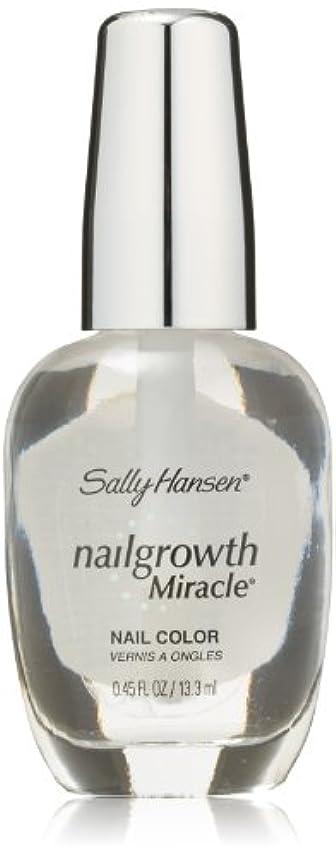 遊具つかむ人事SALLY HANSEN NAIL GROWTH MIRACLE NAIL COLOR #110 CLEAR
