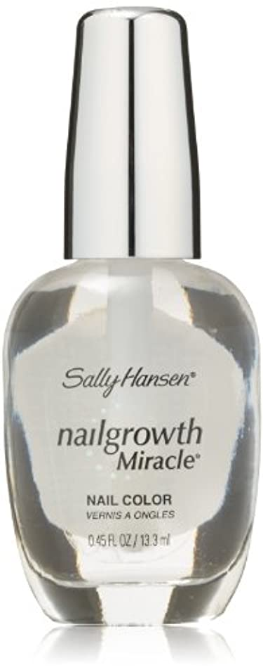 SALLY HANSEN NAIL GROWTH MIRACLE NAIL COLOR #110 CLEAR