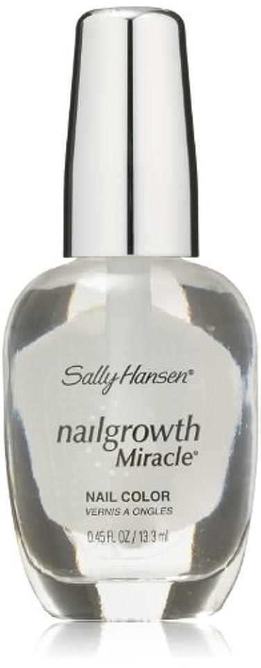 グラムミサイル給料SALLY HANSEN NAIL GROWTH MIRACLE NAIL COLOR #110 CLEAR
