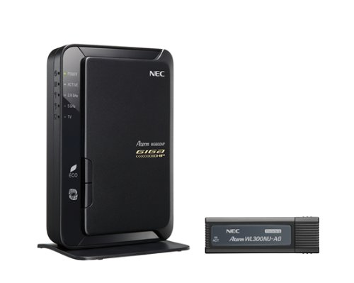 日本電気 AtermWG600HP USBスティックセット PA-WG600HP/U
