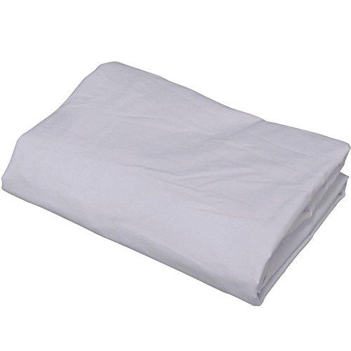 アイリスオーヤマ 布団カバー 敷き布団用 ホワイト シングルロング CWS-SL