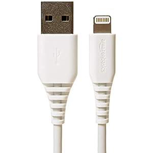 Amazonベーシック ライトニングケーブル USB A MFi認証済み 1m (3フィート) 白