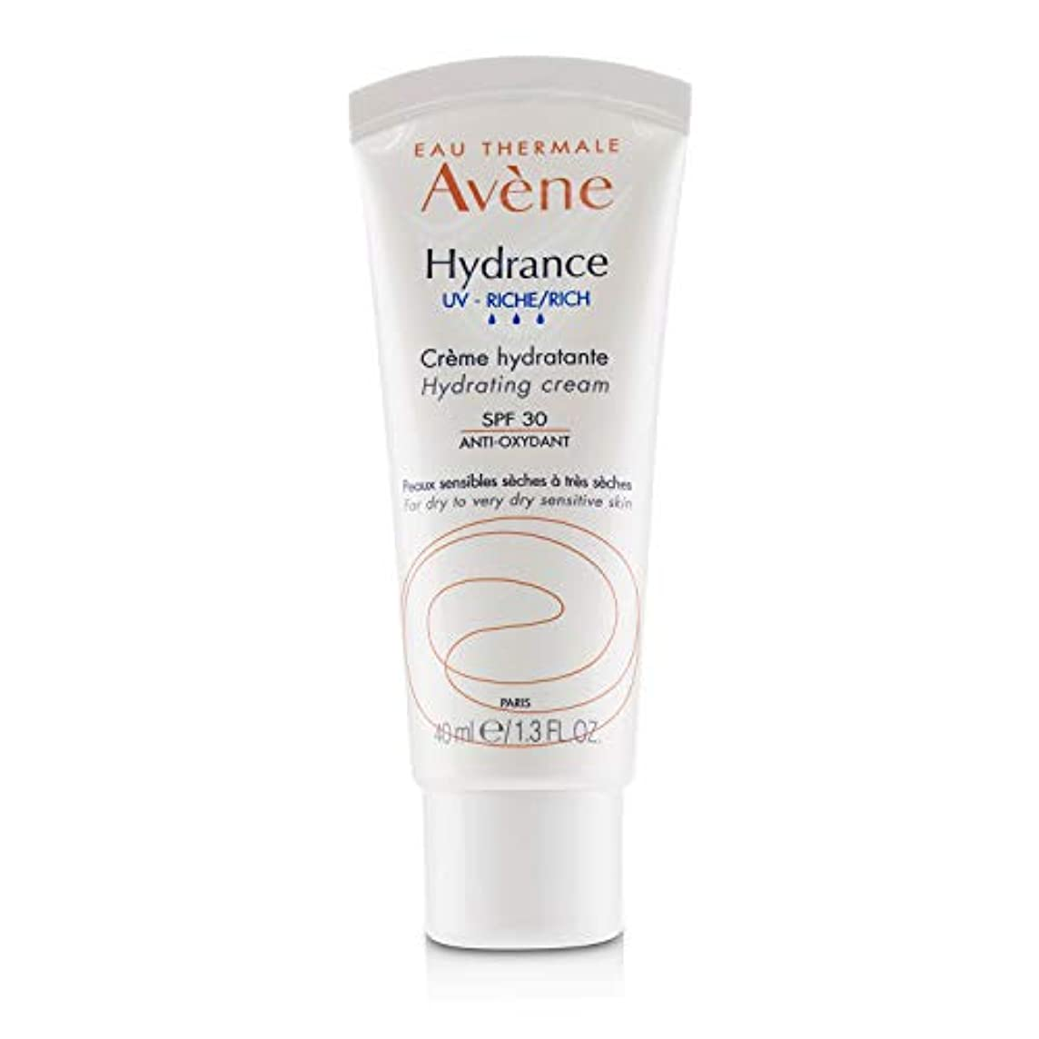 お酒見捨てられたいたずらアベンヌ Hydrance UV RICH Hydrating Cream SPF 30 - For Dry to Very Dry Sensitive Skin 40ml/1.3oz並行輸入品