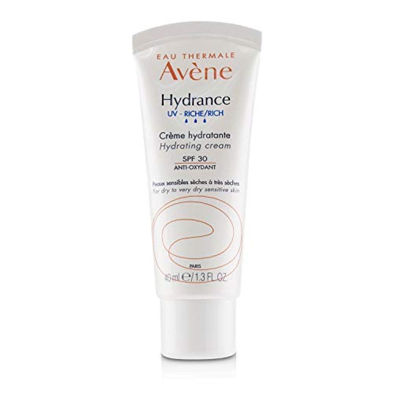 溶かす愛情行方不明アベンヌ Hydrance UV RICH Hydrating Cream SPF 30 - For Dry to Very Dry Sensitive Skin 40ml/1.3oz並行輸入品