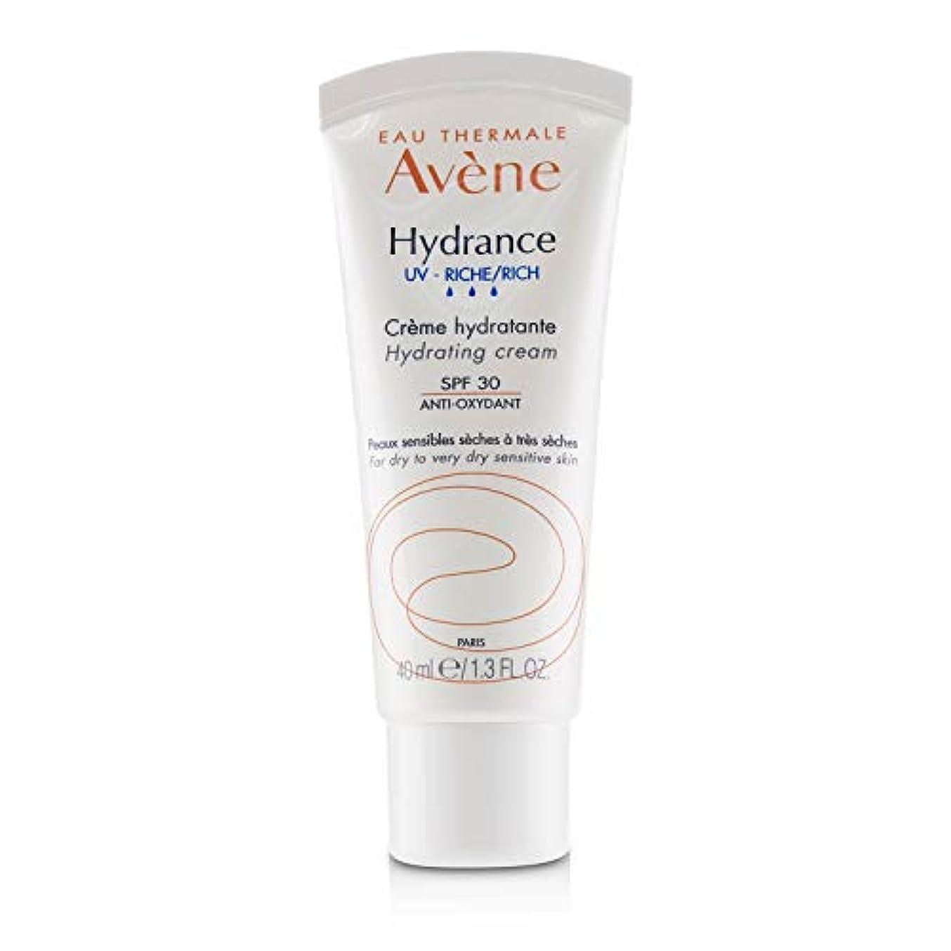 マークダウンメンタルパパアベンヌ Hydrance UV RICH Hydrating Cream SPF 30 - For Dry to Very Dry Sensitive Skin 40ml/1.3oz並行輸入品