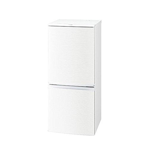 シャープ 冷蔵庫  つけかえどっちもドアタイプ 137L ホワイト系 SJ-D14C-W