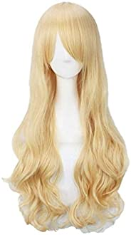 Netgo Cosplay Wig, Long Curl, Versatile Type, Various Colors Available, Colorful, Heat Resistant Wig, Costume