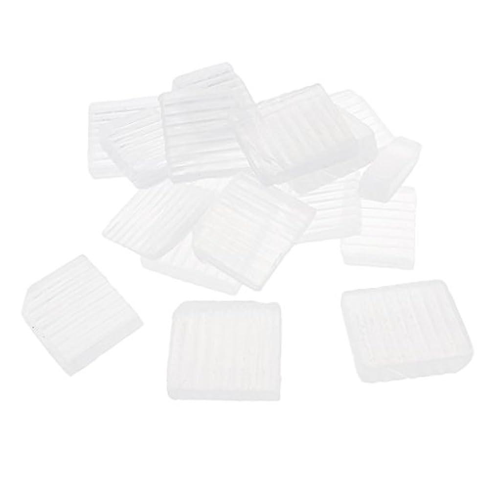 動力学店員同様のP Prettyia 透明 石鹸ベース DIY 手作り 石鹸 材料 約1 KG DIYギフト