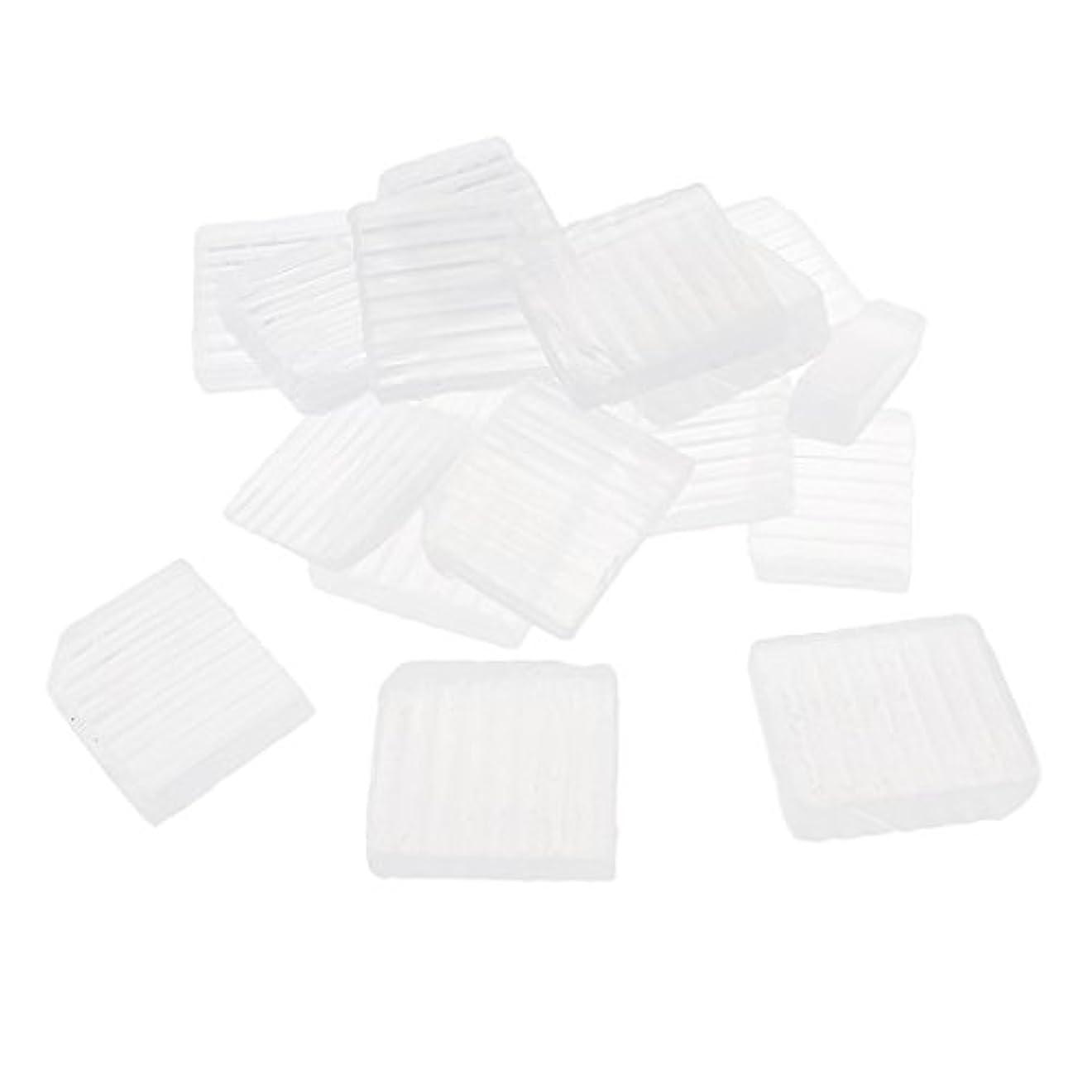 礼拝スーツ挑むP Prettyia 透明 石鹸ベース DIY 手作り 石鹸 材料 約1 KG DIYギフト