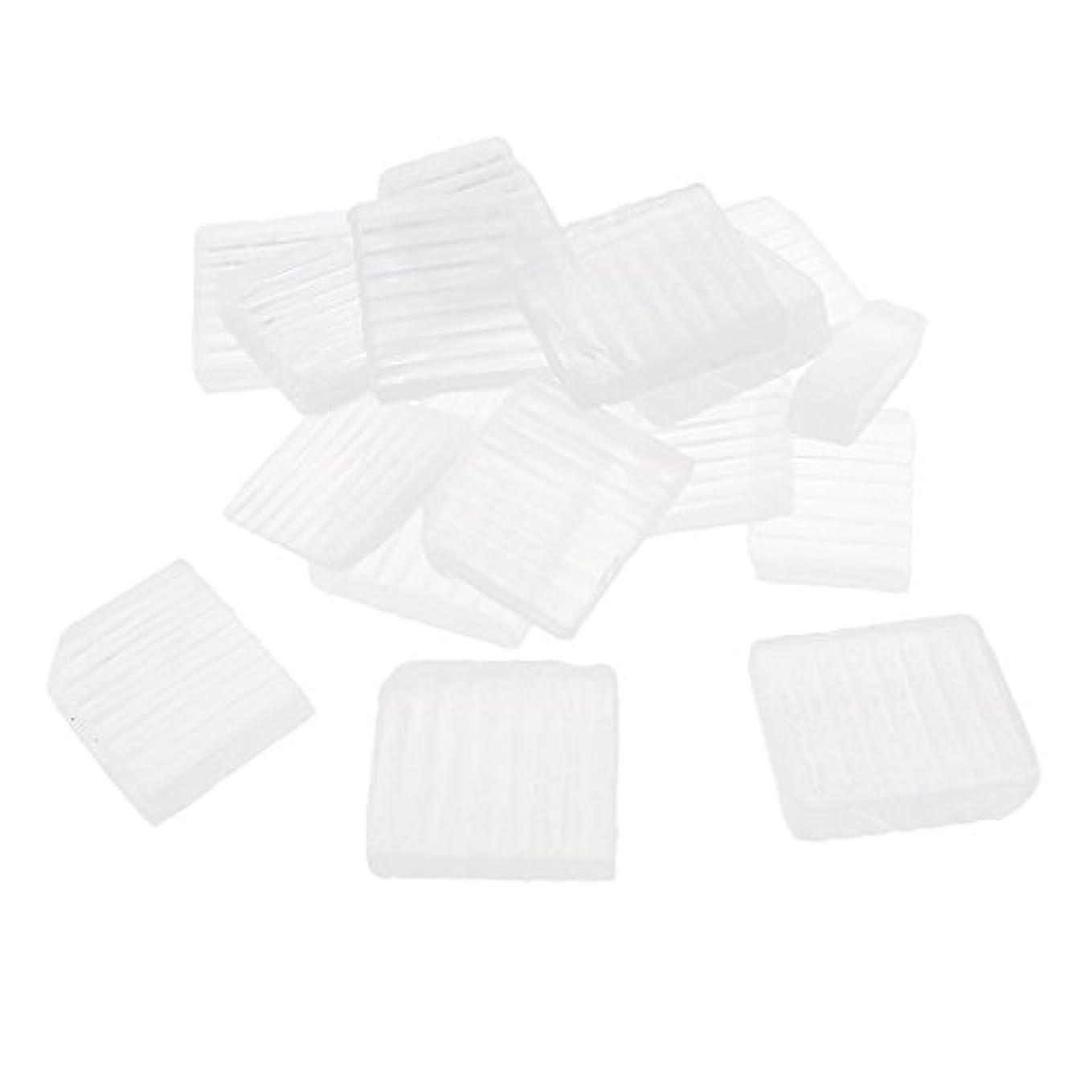 病的小道タオルP Prettyia 透明 石鹸ベース DIY 手作り 石鹸 材料 約1 KG DIYギフト