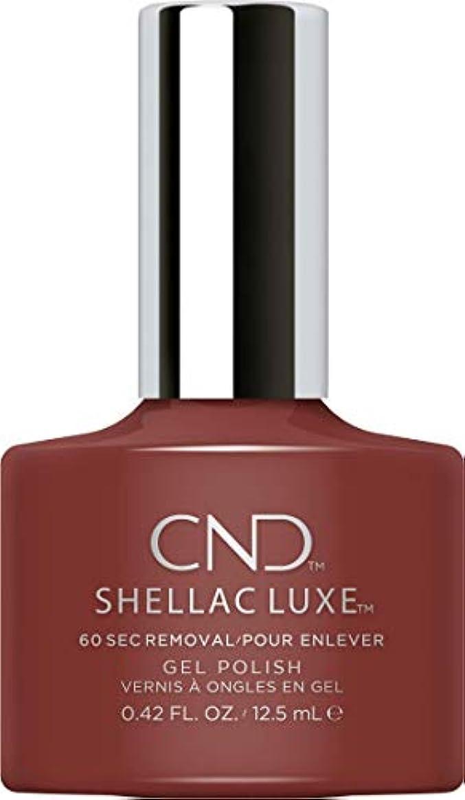 書店シュート解釈するCND Shellac Luxe - Oxblood - 12.5 ml / 0.42 oz