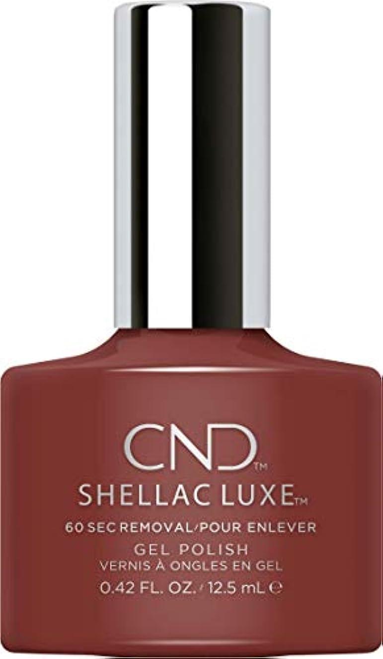 変える唯一是正CND Shellac Luxe - Oxblood - 12.5 ml / 0.42 oz