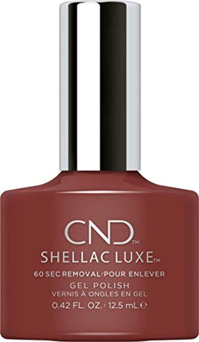 反動ワンダー校長CND Shellac Luxe - Oxblood - 12.5 ml / 0.42 oz