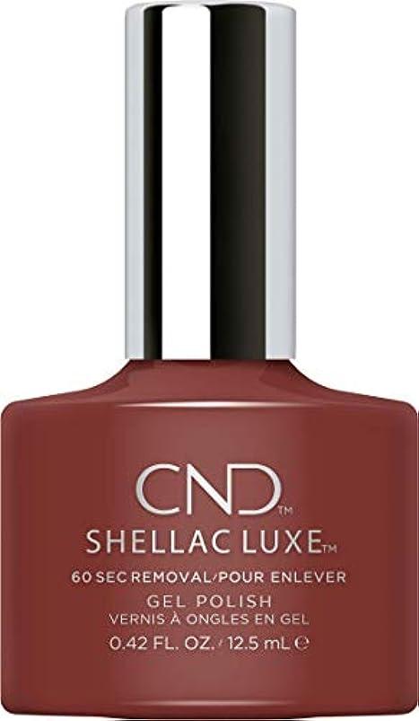 吹きさらし窒息させるバンケットCND Shellac Luxe - Oxblood - 12.5 ml / 0.42 oz