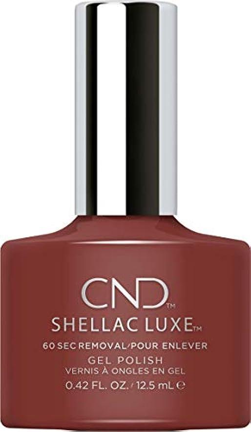 正当な突撃夜の動物園CND Shellac Luxe - Oxblood - 12.5 ml / 0.42 oz