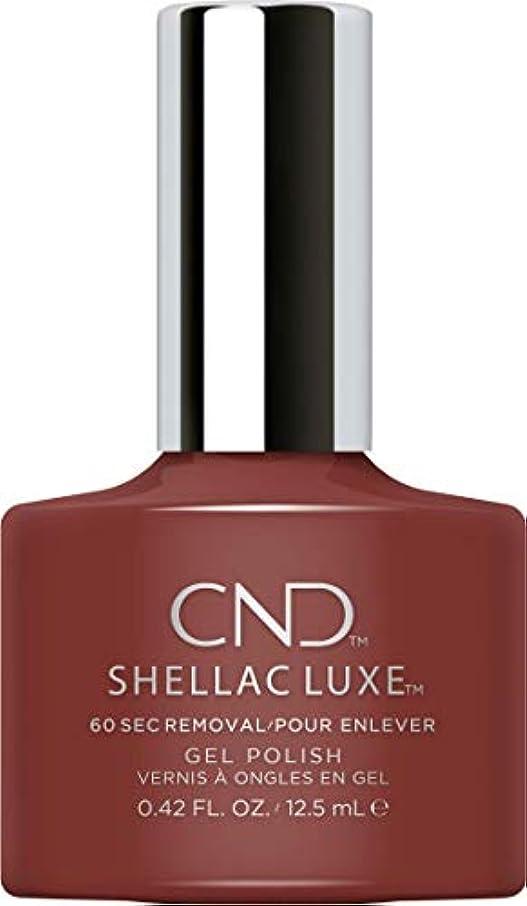 旅行用量地上のCND Shellac Luxe - Oxblood - 12.5 ml / 0.42 oz