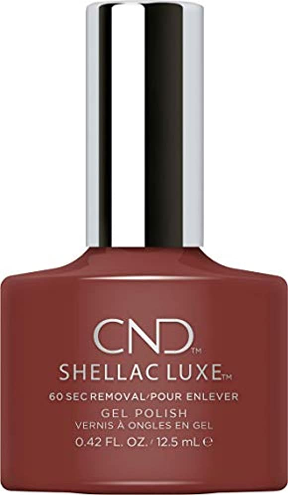 生態学測定可能練るCND Shellac Luxe - Oxblood - 12.5 ml / 0.42 oz
