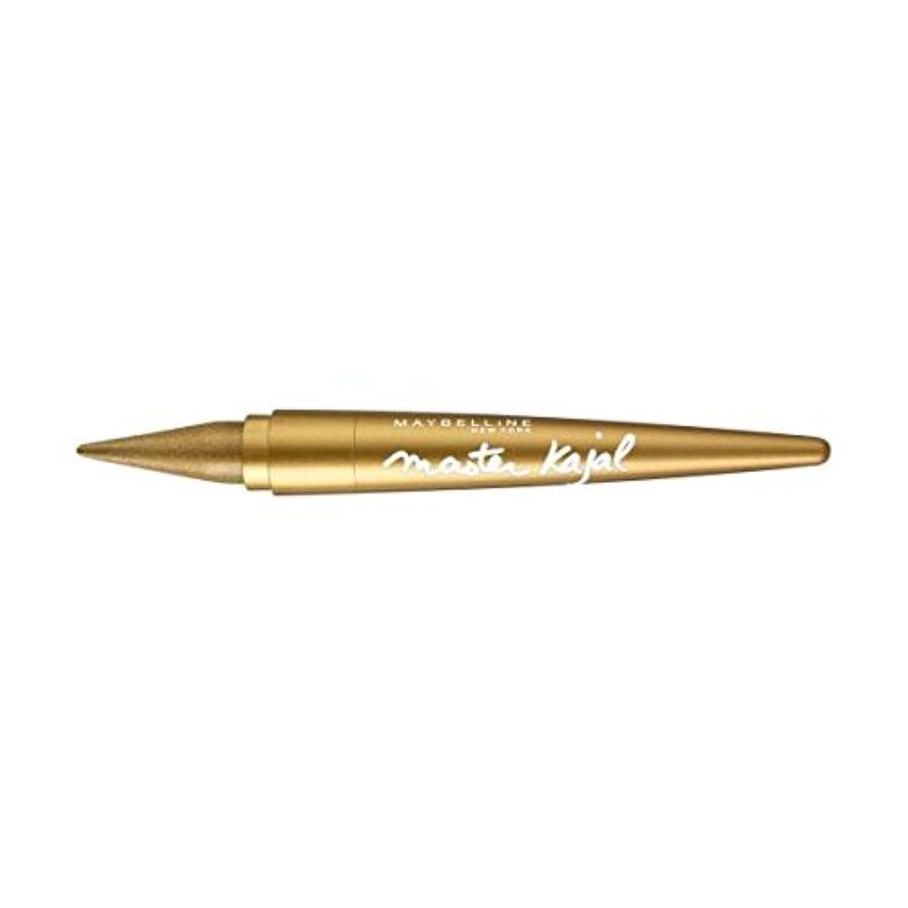 三角形感謝化学L'Oreal Khol Liner Master Kajal Eyeliner - Gold