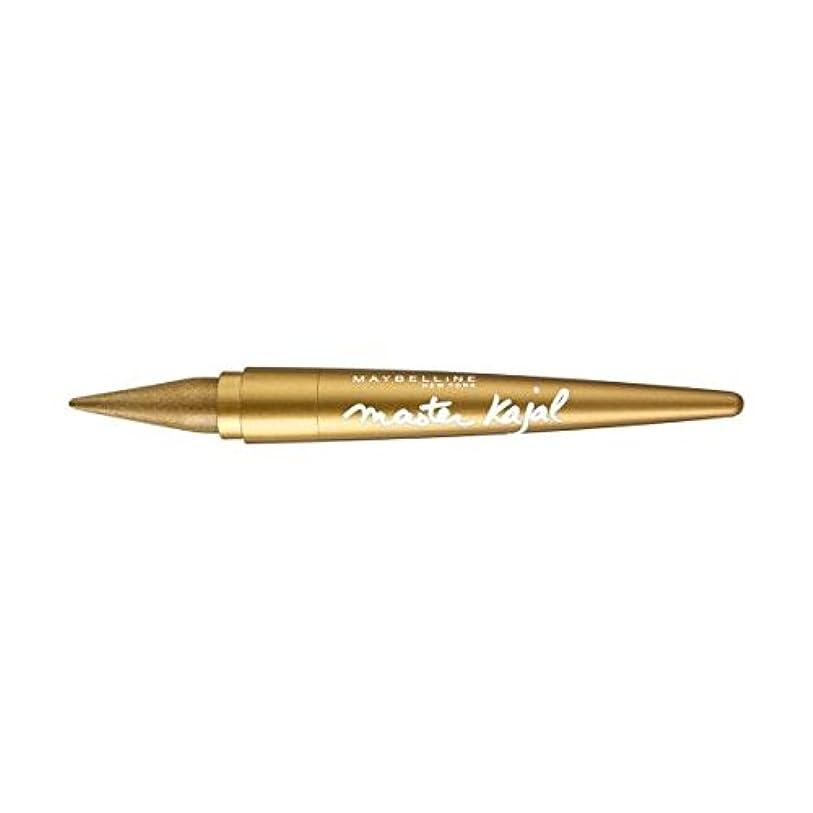 北バスタブ徒歩でL'Oreal Khol Liner Master Kajal Eyeliner - Gold