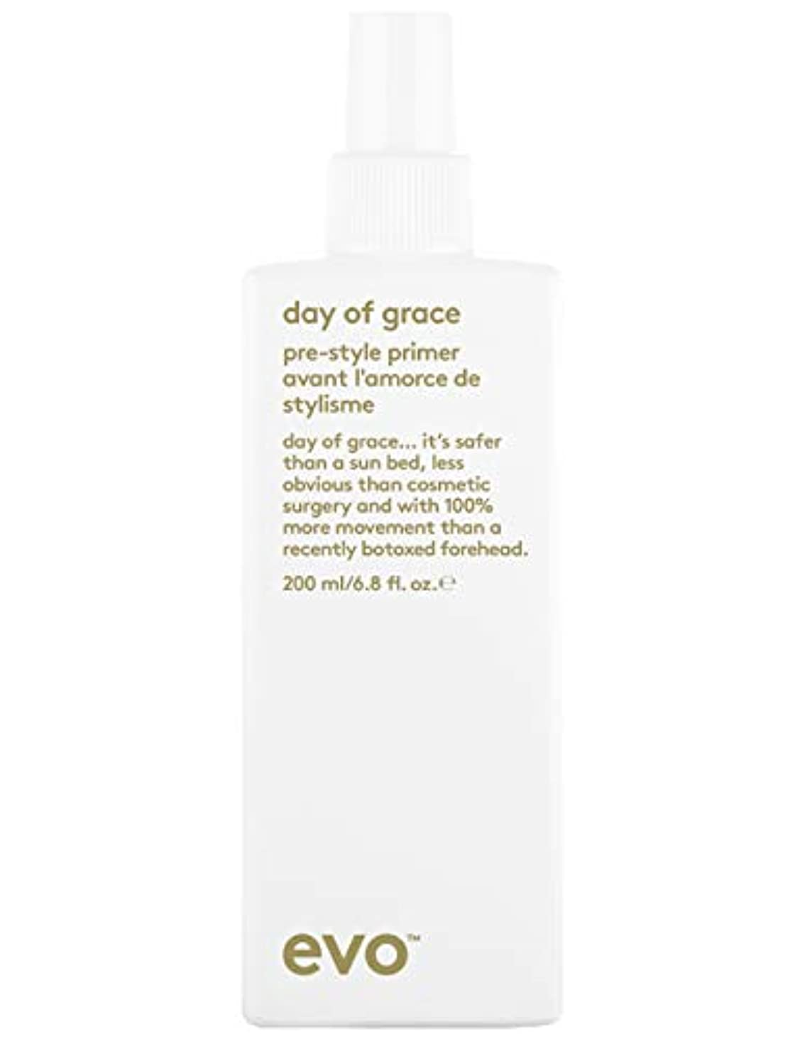 気味の悪いペチコート効率的にEvo Day Of Grace Leave-In Conditioner (For All Hair Types, Especially Fine Hair) 200ml/6.8oz
