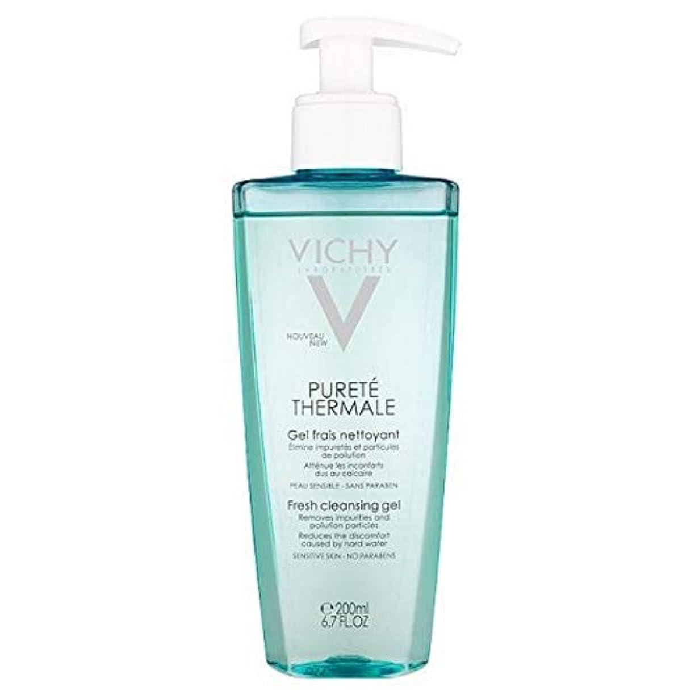 神秘的なできたうつ[Vichy ] ヴィシーPureteのThermaleクレンジングジェル200Ml - Vichy Purete Thermale Cleansing Gel 200ml [並行輸入品]