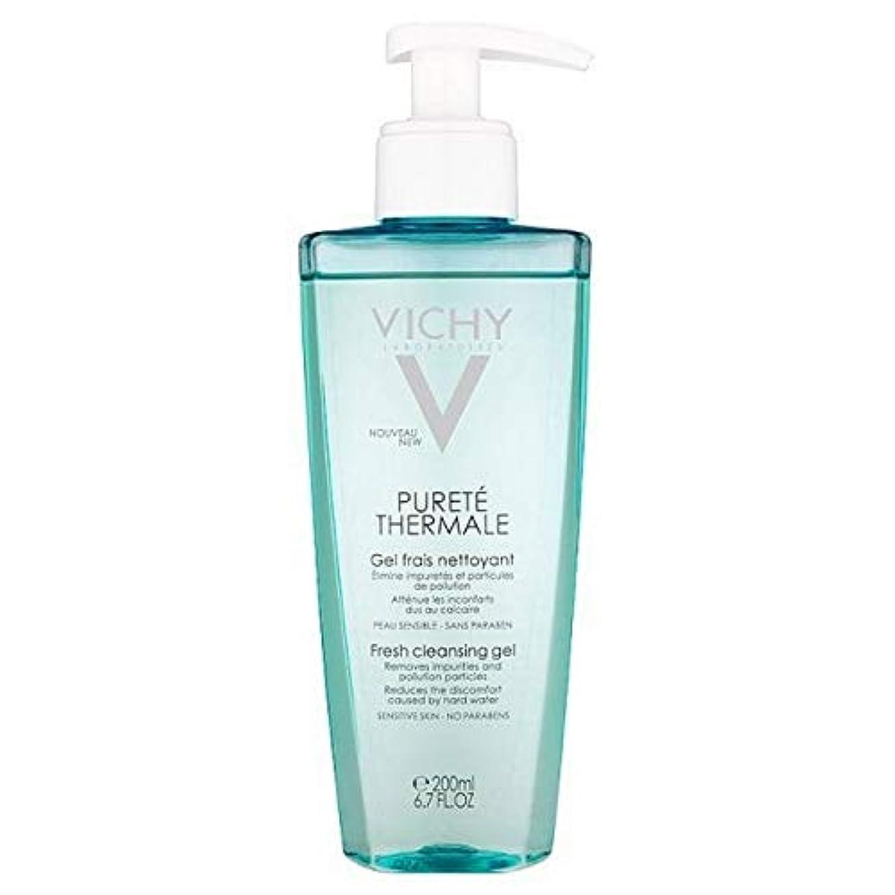 差別相談する拮抗する[Vichy ] ヴィシーPureteのThermaleクレンジングジェル200Ml - Vichy Purete Thermale Cleansing Gel 200ml [並行輸入品]