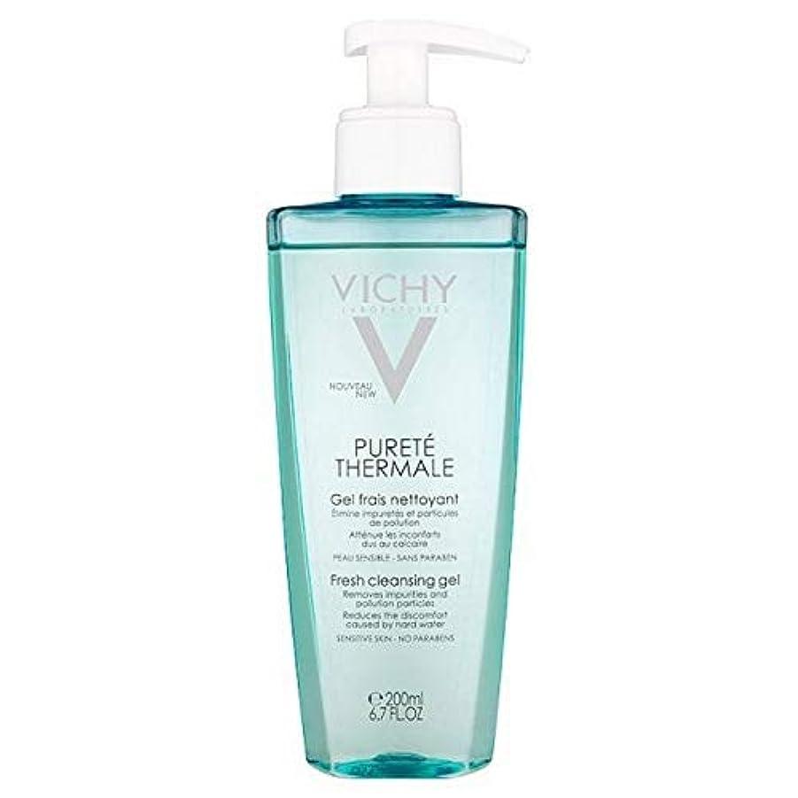 雨のハリケーンテーブル[Vichy ] ヴィシーPureteのThermaleクレンジングジェル200Ml - Vichy Purete Thermale Cleansing Gel 200ml [並行輸入品]