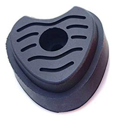 アップヒール ロードラバーヒール SIDIロード/トライアスロンシューズ用 左右セット ブラック