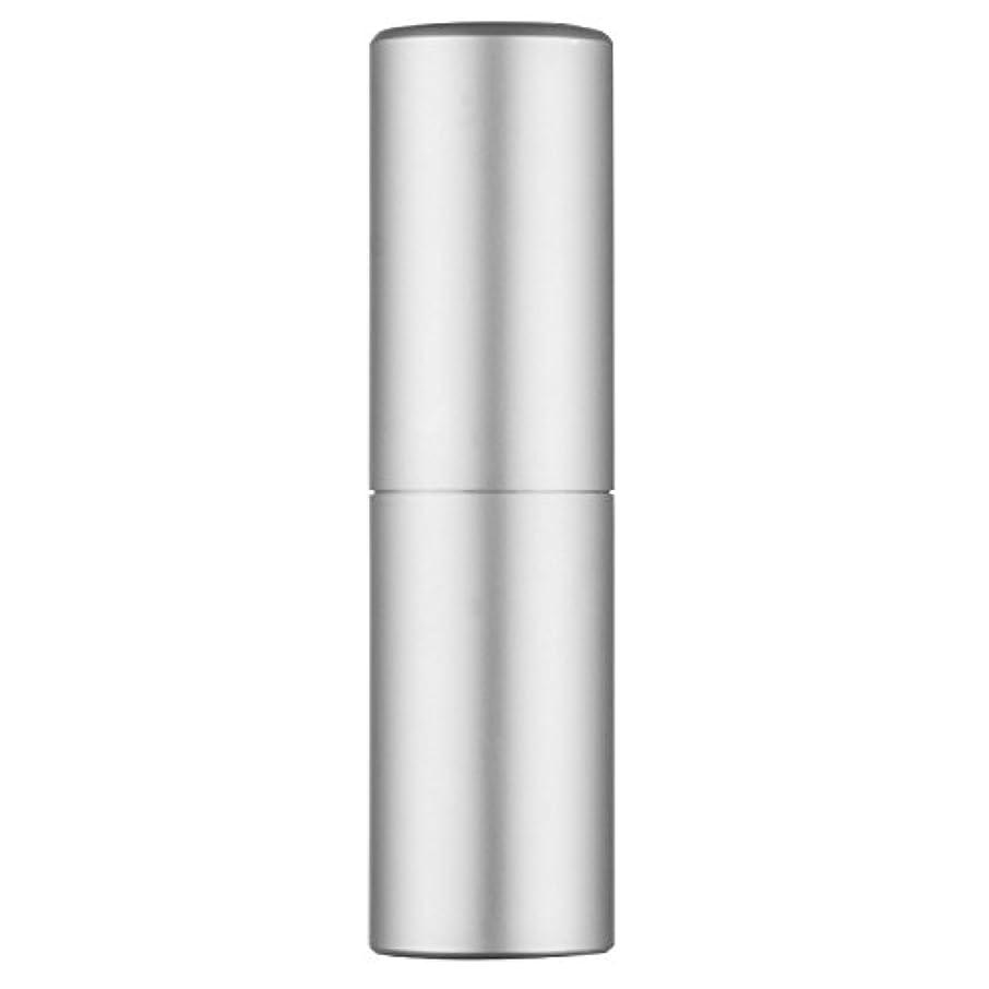幾何学メガロポリス同意香水アトマイザー Faireach レディース スプレーボトル 香水噴霧器 旅行携帯便利 詰め替え容器 20ml (シルバー)