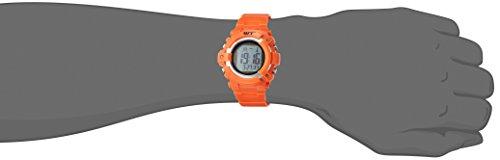 『[アリアス]ALIAS 腕時計 電波ソーラー デジタル ウェーブトランス 5気圧防水 ウレタンベルト オレンジ WT13003RCSOL4 メンズ』の3枚目の画像