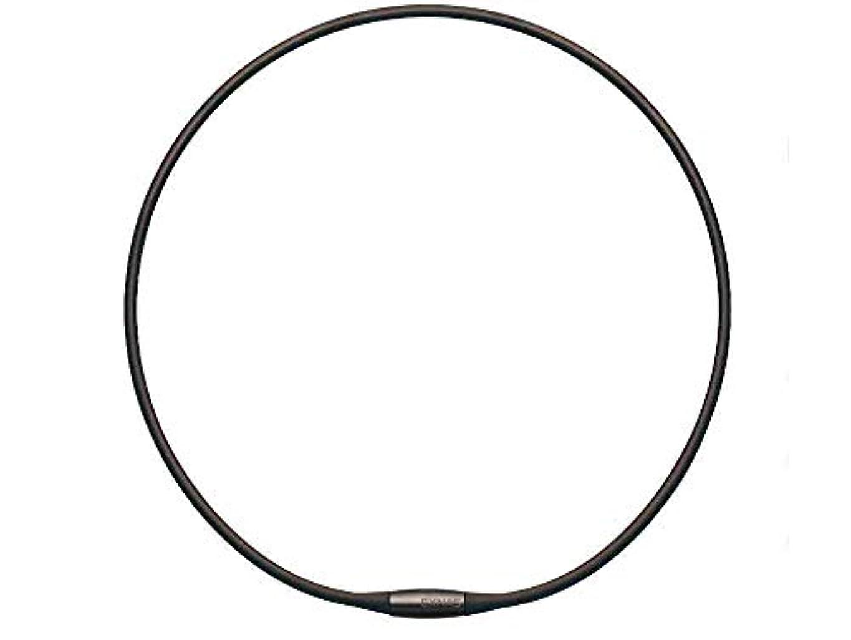 ダニジーンズ偏差TDK EXNAS エクナス D1 磁気ネックレス 50cm-BKブラック*ネオジウム磁石で肩、首の血行を促進させ、コリを改善!