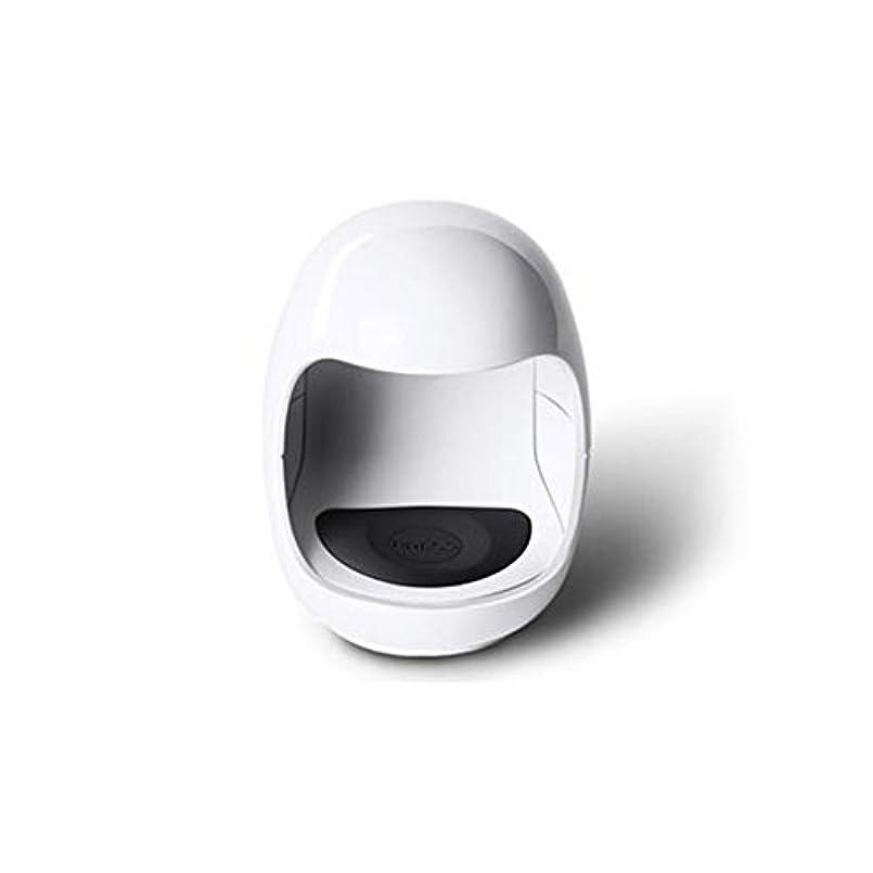 爆風荒野学者LittleCat ネイル光線療法のミニUSB太陽灯ライトセラピーランプLEDランプ速乾性ネイルポリッシュベーキングゴム (色 : White without data cable)