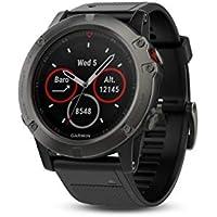 Garmin 010-01733-02 Fenix 5X,Sapphire,Slate Gray,GPS Watch, US