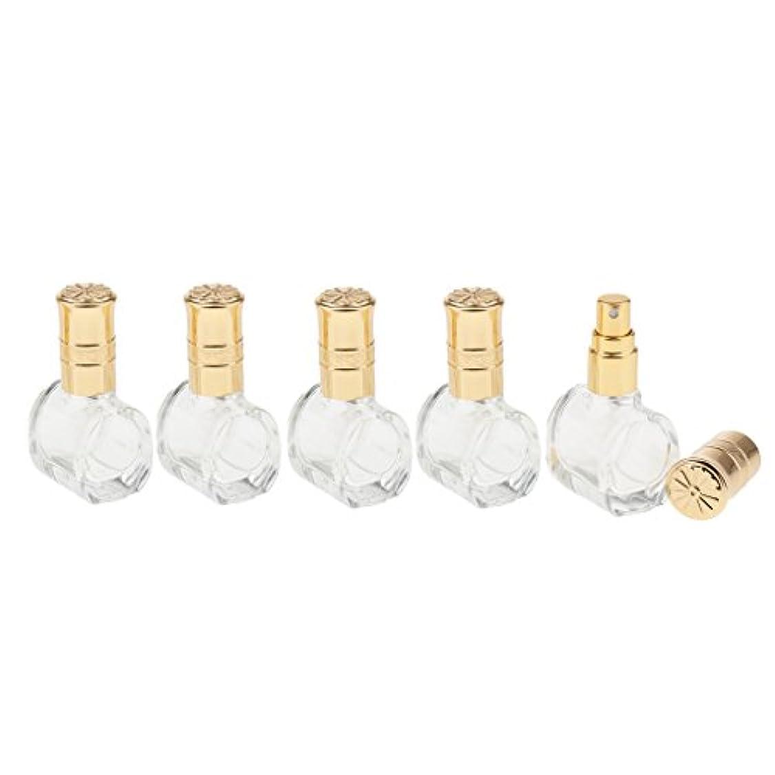 比較プレーヤータフFenteer 5個 ガラス ボトル 空ボトル 詰替え オイル 香水 アトマイザー スプレーボトル