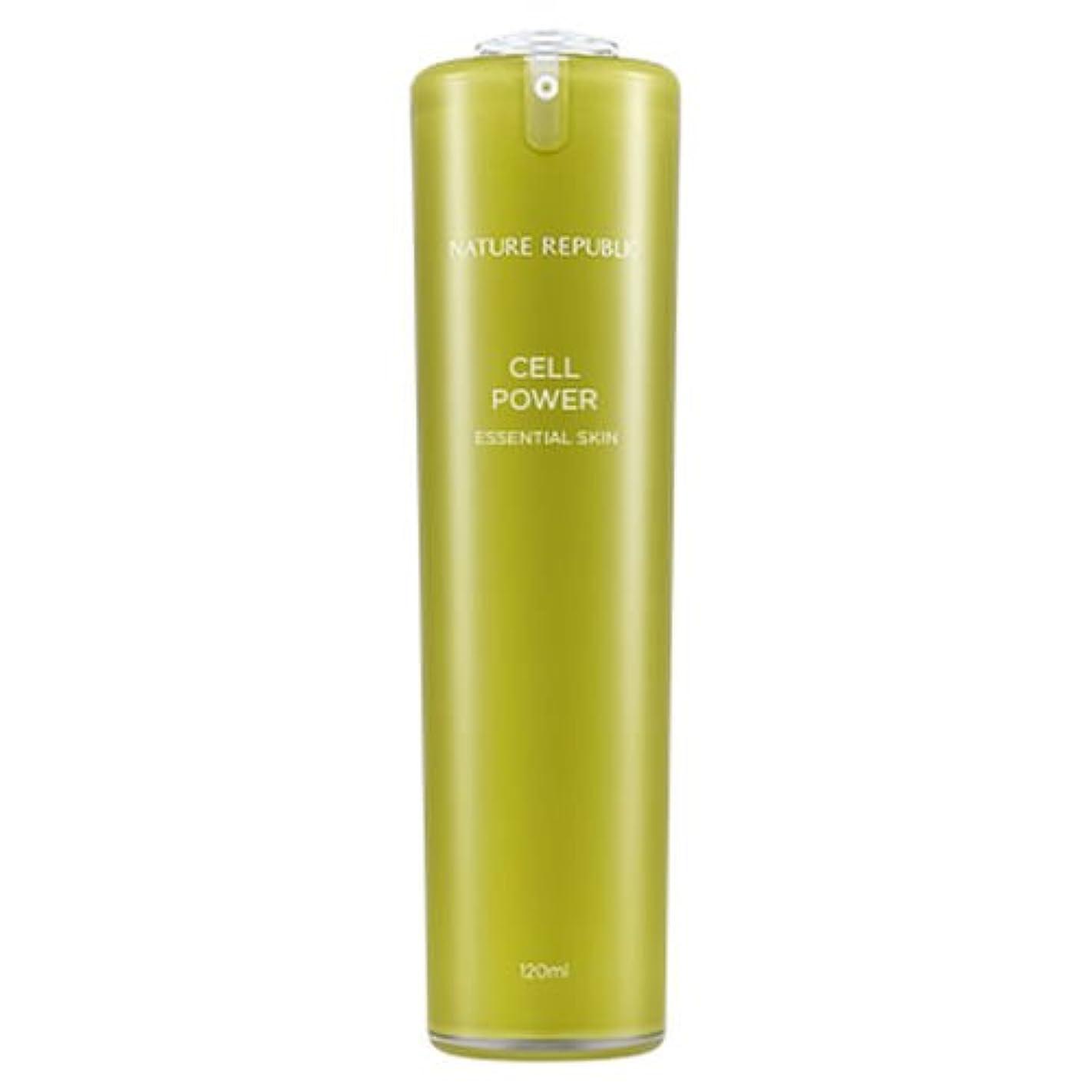 タッチヘルパー振る正規輸入品 NATURE REPUBLIC(ネイチャーリパブリック) CP エッセンシャルスキン 化粧水 120ml NJ1170