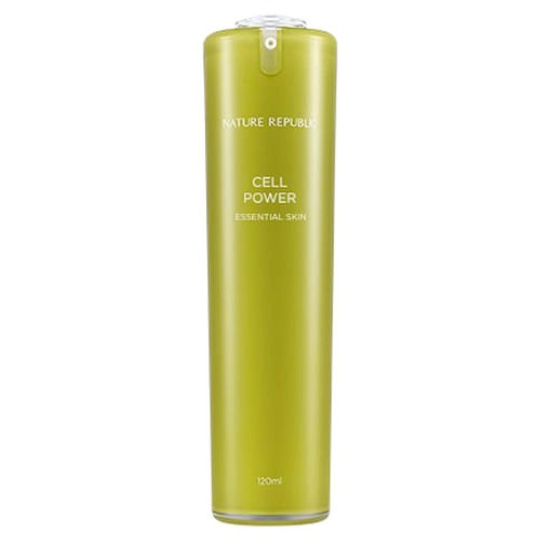 フォーラム接触革命的正規輸入品 NATURE REPUBLIC(ネイチャーリパブリック) CP エッセンシャルスキン 化粧水 120ml NJ1170