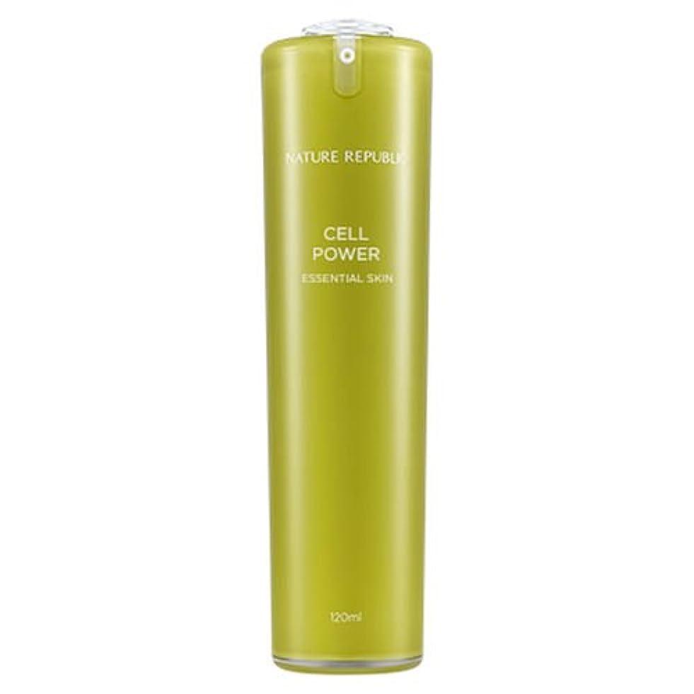 正規輸入品 NATURE REPUBLIC(ネイチャーリパブリック) CP エッセンシャルスキン 化粧水 120ml NJ1170