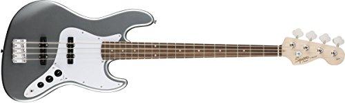Squier by Fender エレキベース Affinity Series™ Jazz Bass®, Laurel Fingerboard, Slick Silver