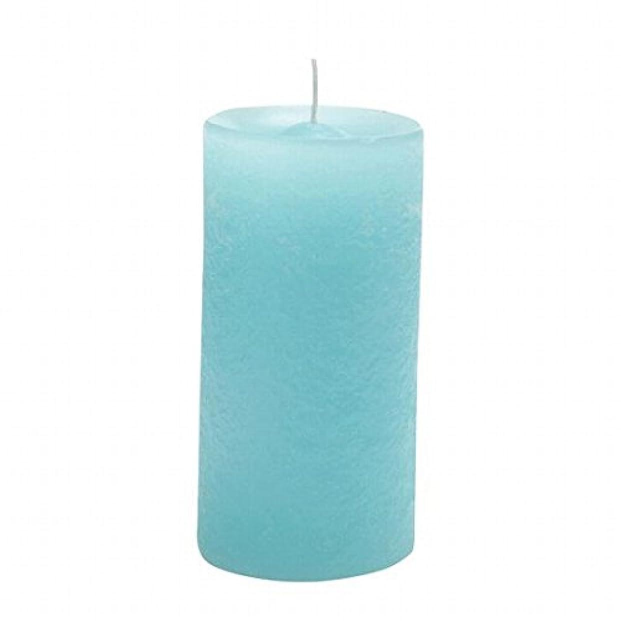 ヤンキーキャンドル(YANKEE CANDLE) ラスティクピラー50×100 「 ライトブルー 」