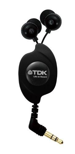 TDK LoR 巻き取り式イヤカナル CLEF-FINE ブラック TH-EC130BK