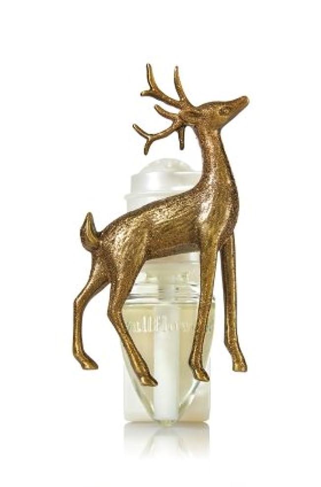 残高放散する溶融【Bath&Body Works/バス&ボディワークス】 ルームフレグランス プラグインスターター (本体のみ) ウッドランドディアー Wallflowers Fragrance Plug Woodland Deer [...