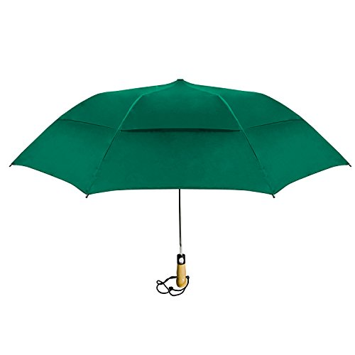 Natico Originals 60-58-GN 58 in. Vented Little Giant Umbrella, Hunter Green