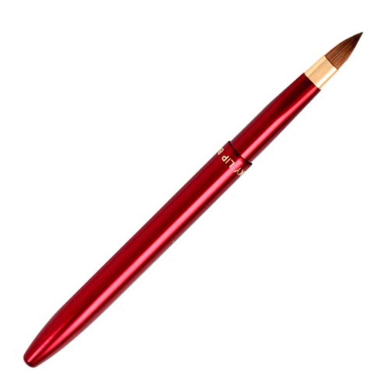また明日ね枠交流する広島熊野筆 オートリップブラシ 毛質 イタチ L-4