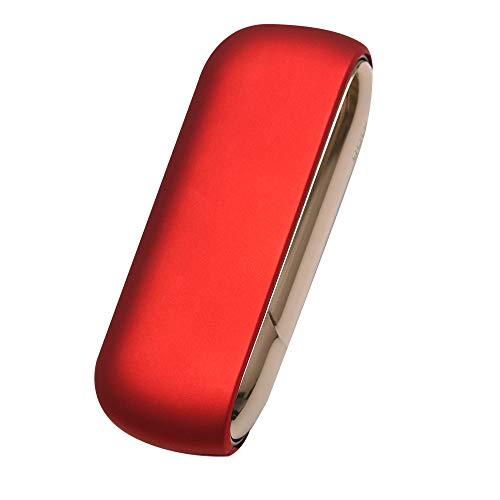 【N-design】 アイコス3 ケース カバー 6色 マットタイプ (RED)