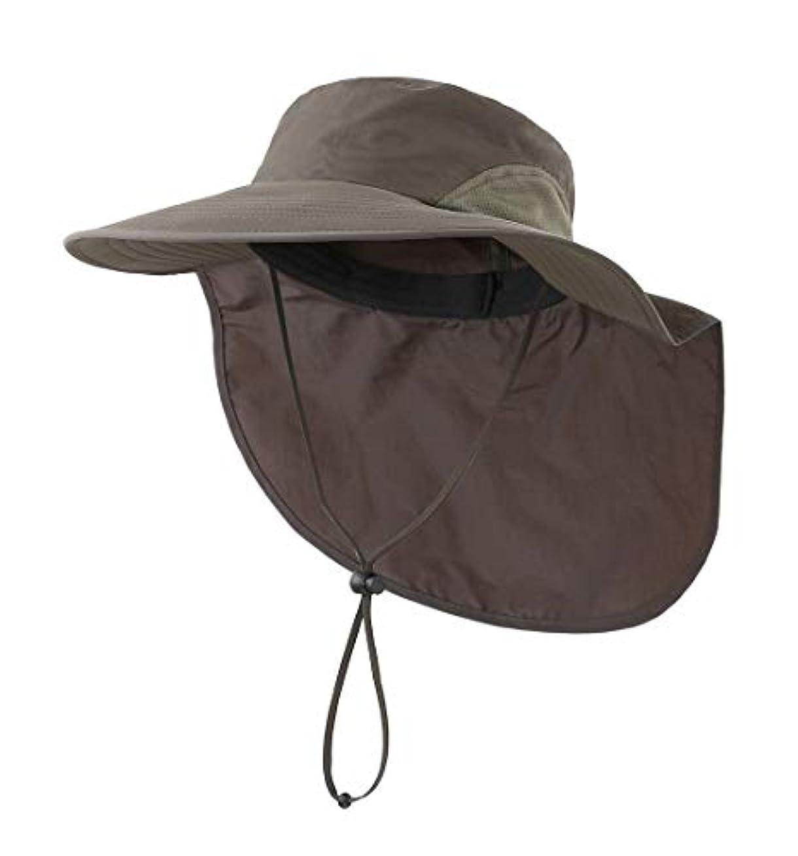 歴史フェード文(コネクタイル)Connectyle メンズ レディース 速乾 UVカット ハット アウトドア 日よけ帽子 サファリハット 夏 農作業用 帽子 釣り帽